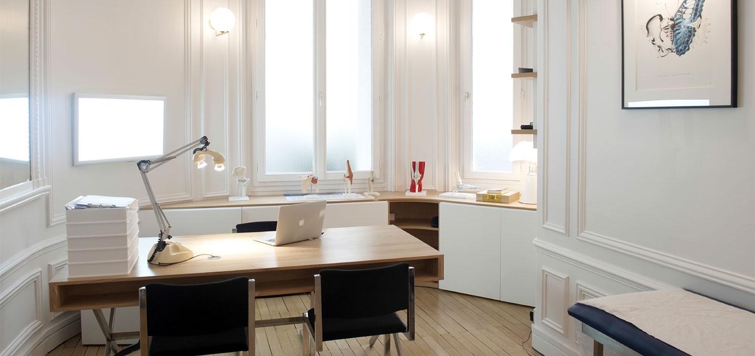 Cabinet du dr Mylle, chirurgien orthopédiste à Paris