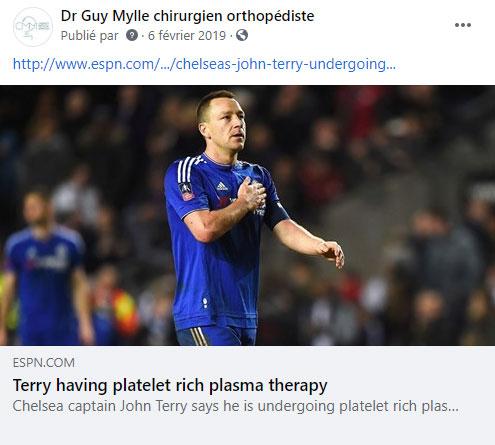 Suivez le dr Mylle sur Facebook